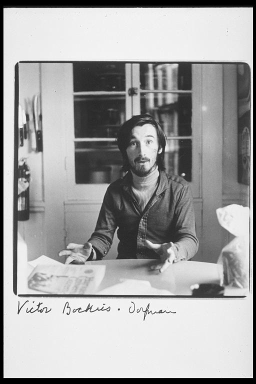 photo of Victor Bockris by Elsa Dorfman