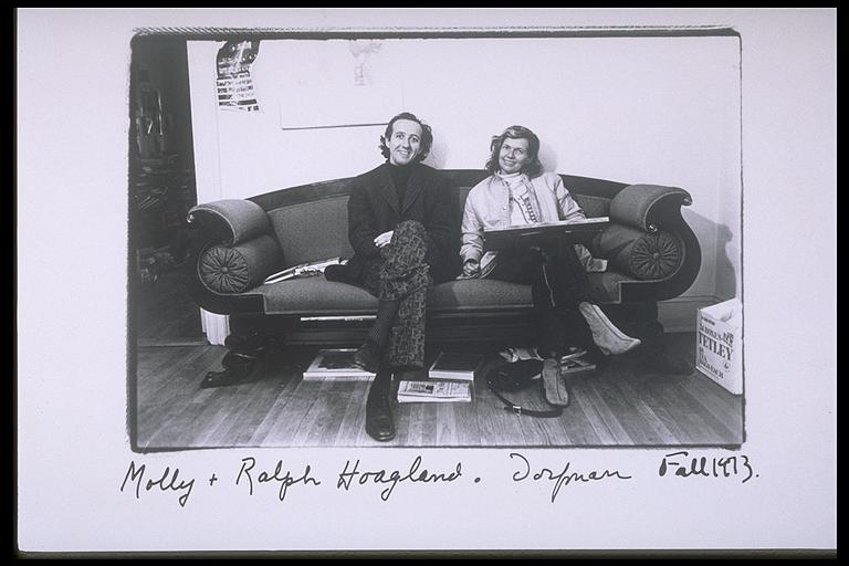 photo of Molly and Ralph Hoagland by Elsa Dorfman
