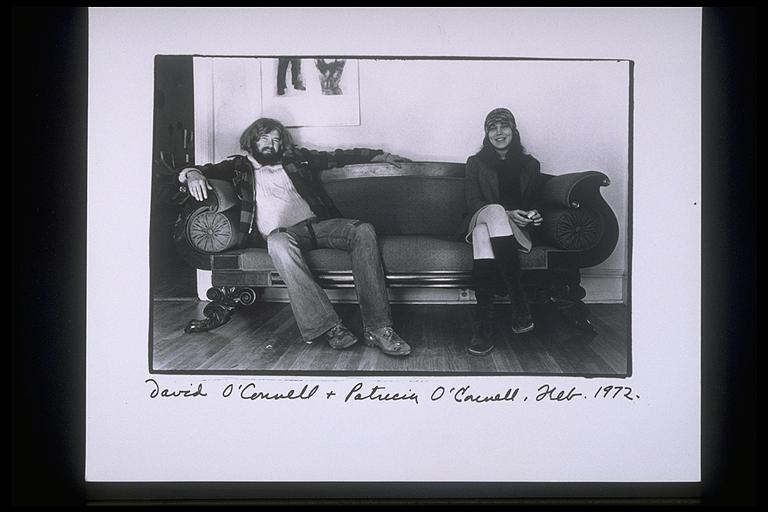 photo of David and Patricia O'Connell by Elsa Dorfman